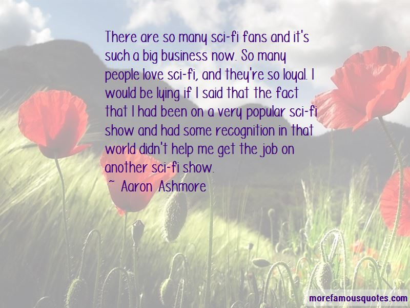 Aaron Ashmore Quotes Pictures 2