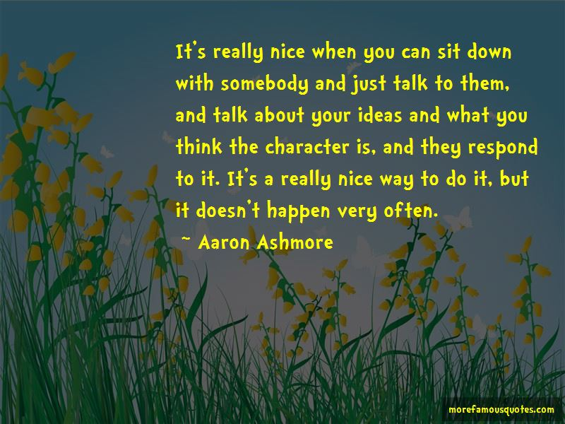 Aaron Ashmore Quotes Pictures 3