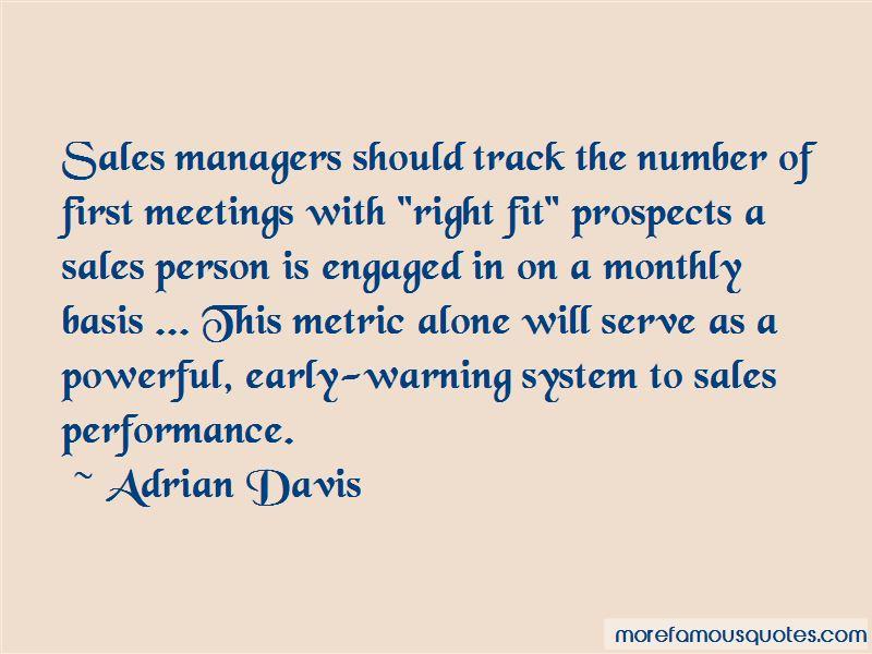 Adrian Davis Quotes