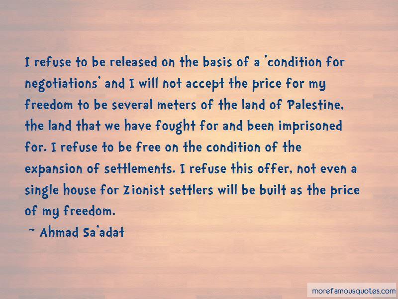 Ahmad Sa'adat Quotes