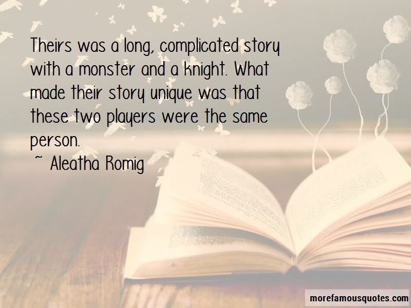 Aleatha Romig Quotes Pictures 4