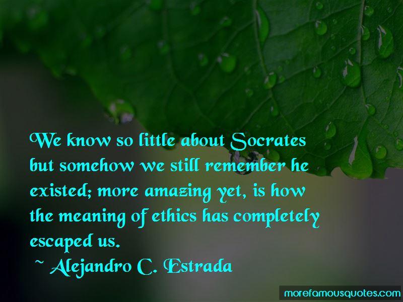 Alejandro C. Estrada Quotes Pictures 2