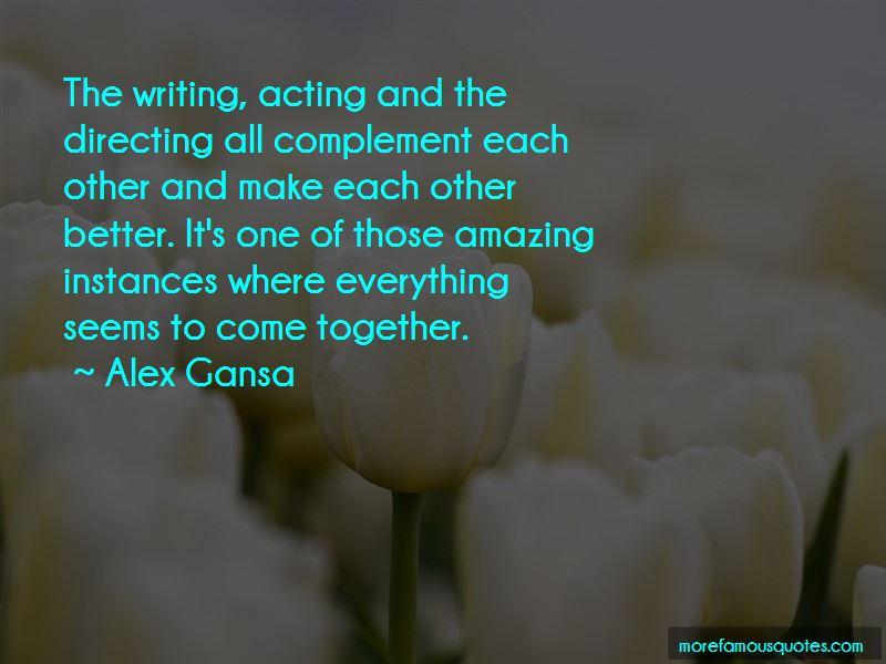 Alex Gansa Quotes Pictures 3