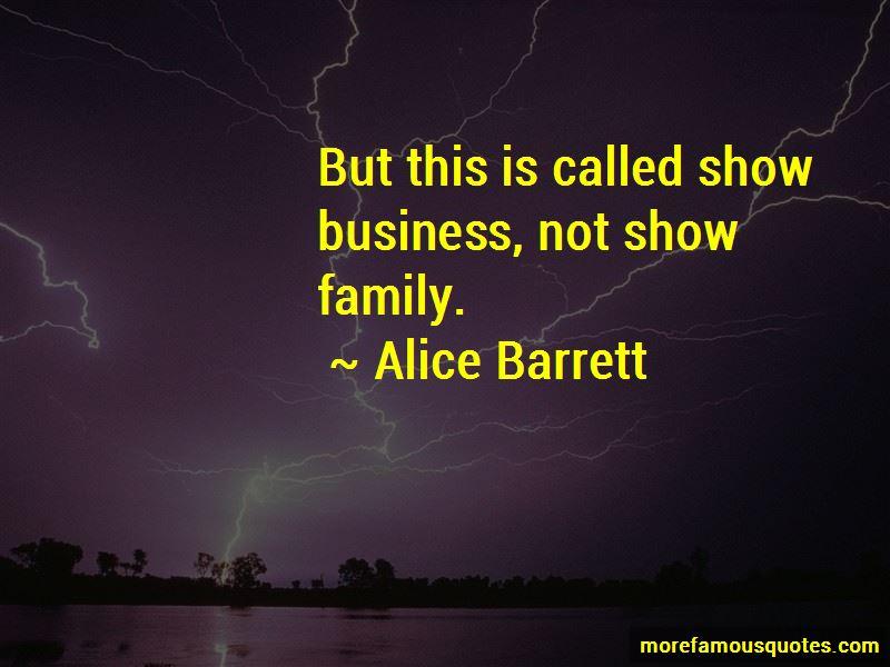 Alice Barrett Quotes Pictures 4