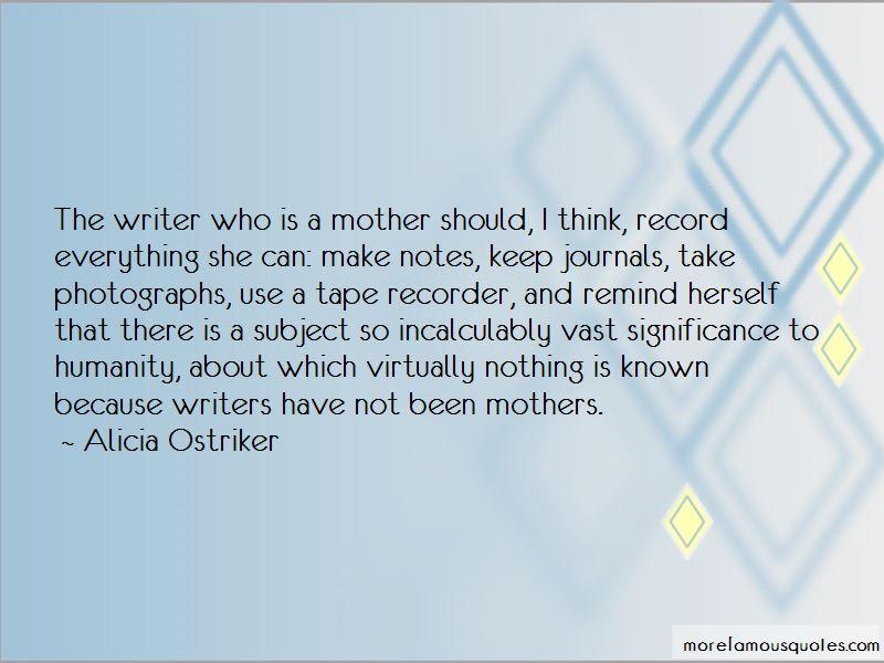 Alicia Ostriker Quotes
