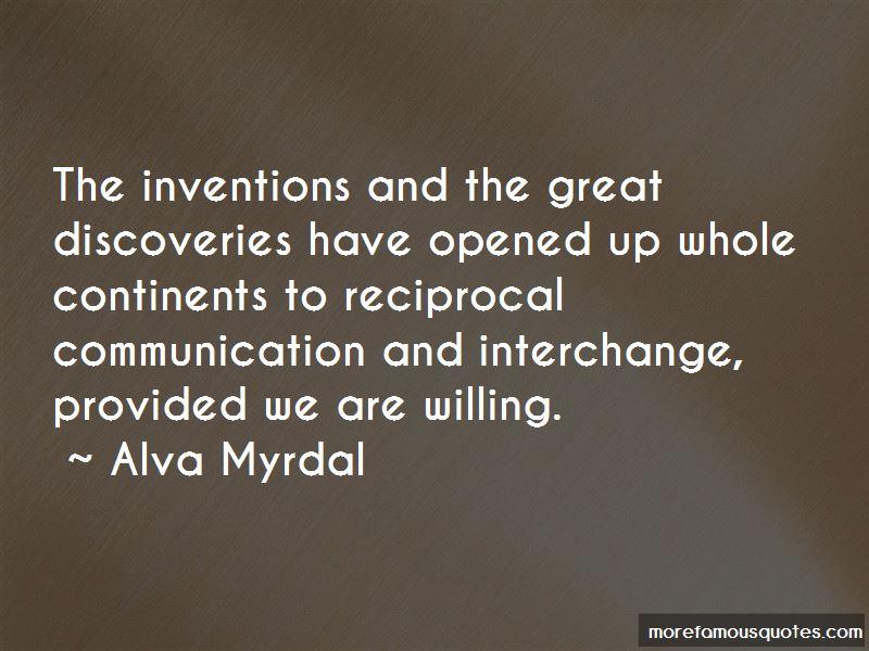 Alva Myrdal Quotes Top 36 Famous Quotes By Alva Myrdal