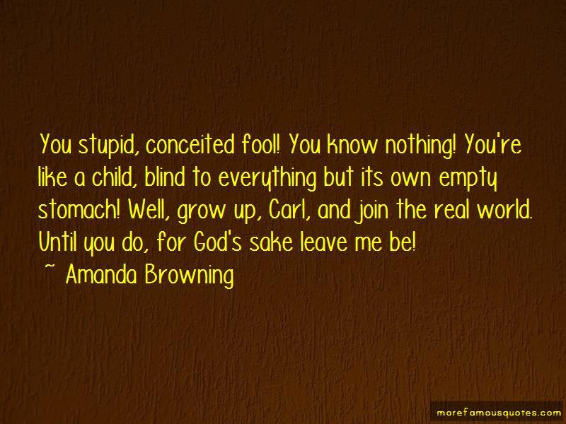 Amanda Browning Quotes