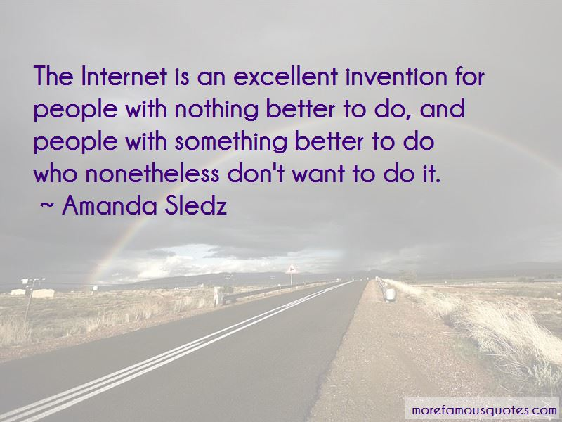 Amanda Sledz Quotes