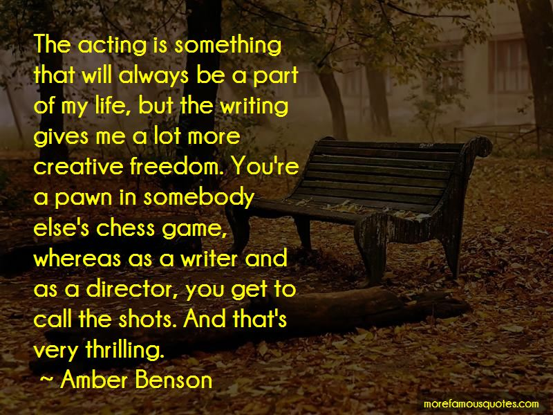 Amber Benson Quotes Pictures 2