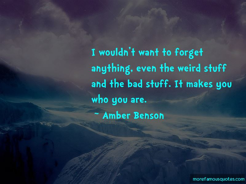 Amber Benson Quotes Pictures 3
