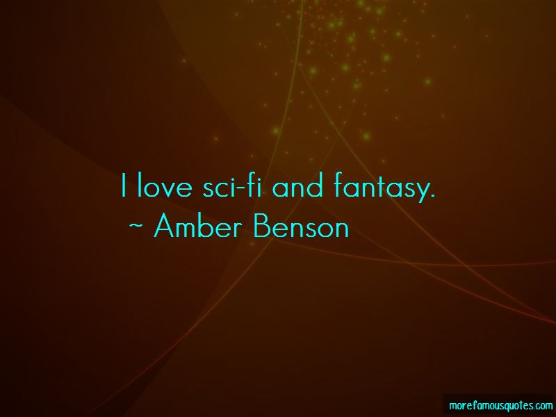 Amber Benson Quotes Pictures 4