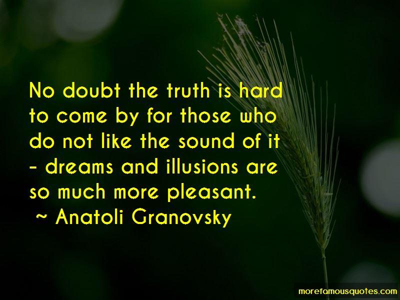 Anatoli Granovsky Quotes