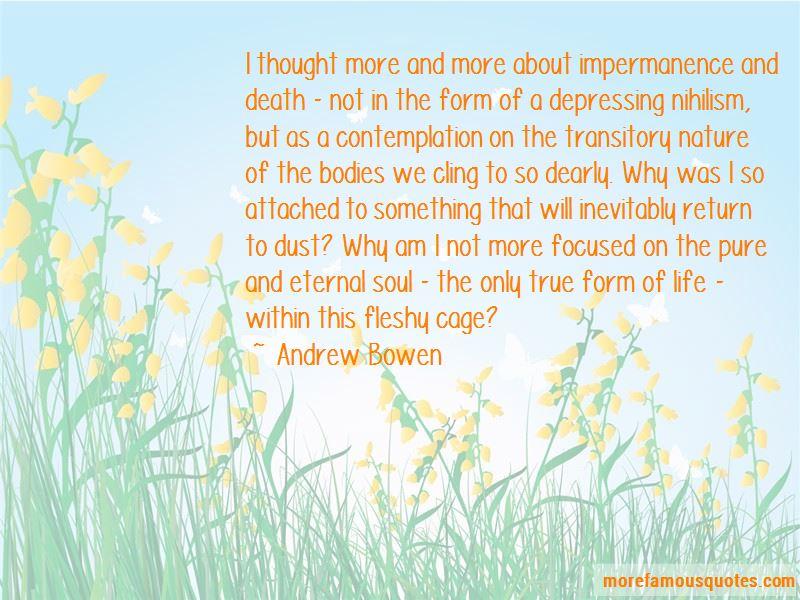 Andrew Bowen Quotes