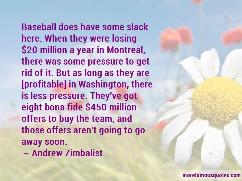 Andrew Zimbalist Quotes Pictures 2