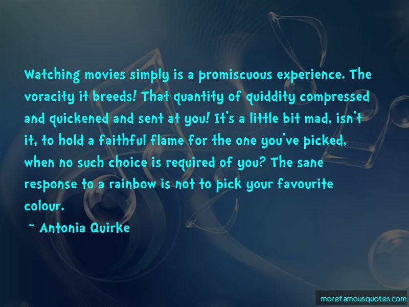 Antonia Quirke Quotes
