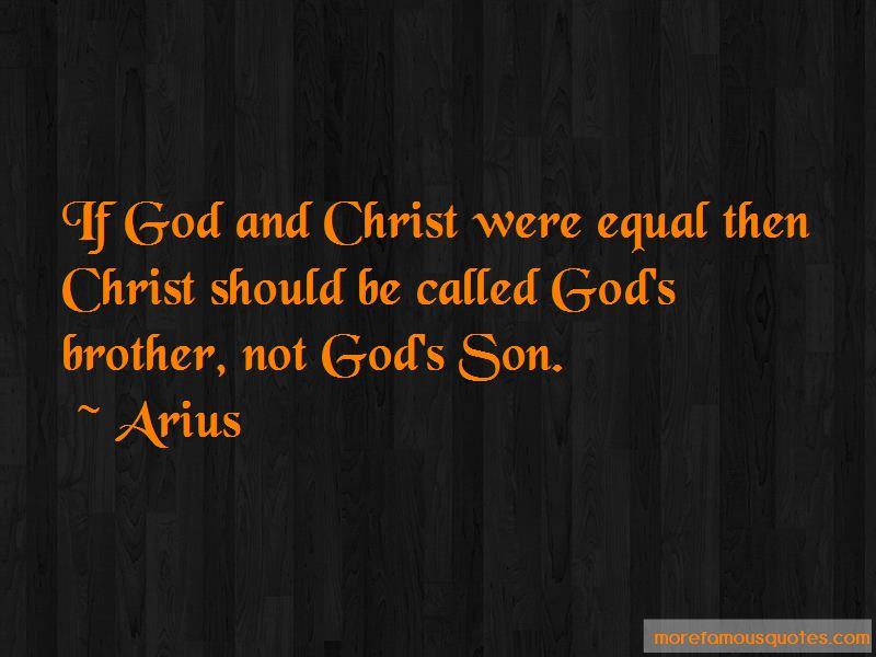 Arius Quotes