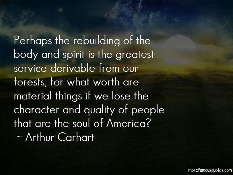 Arthur Carhart Quotes Pictures 2