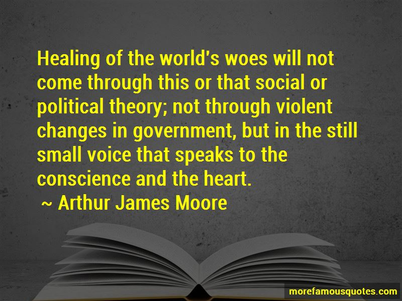 Arthur James Moore Quotes