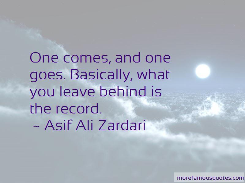 Asif Ali Zardari Quotes