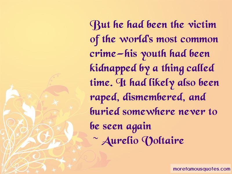 Aurelio Voltaire Quotes Pictures 2