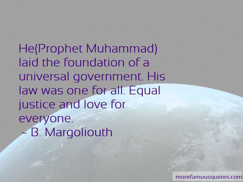 B. Margoliouth Quotes