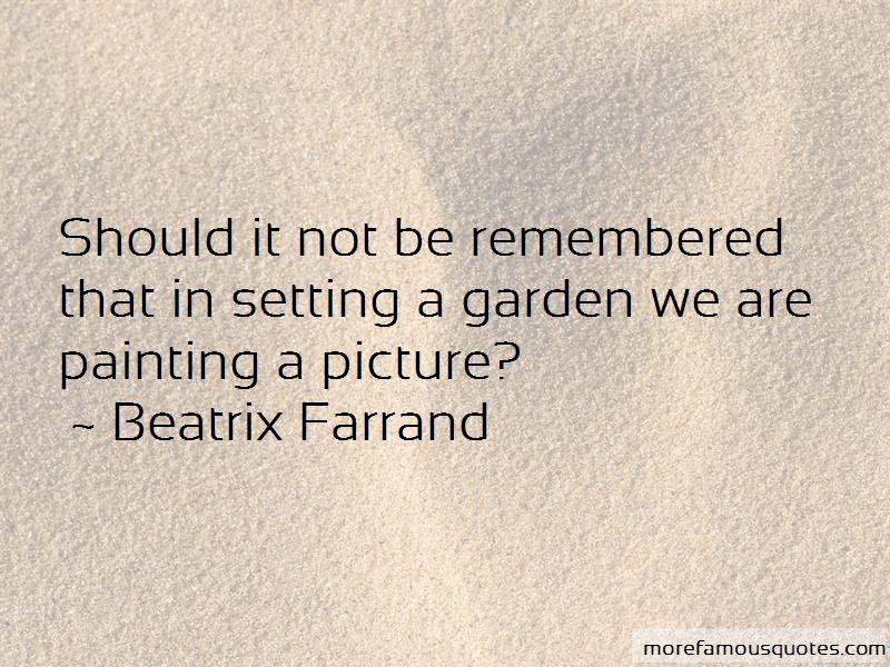 Beatrix Farrand Quotes