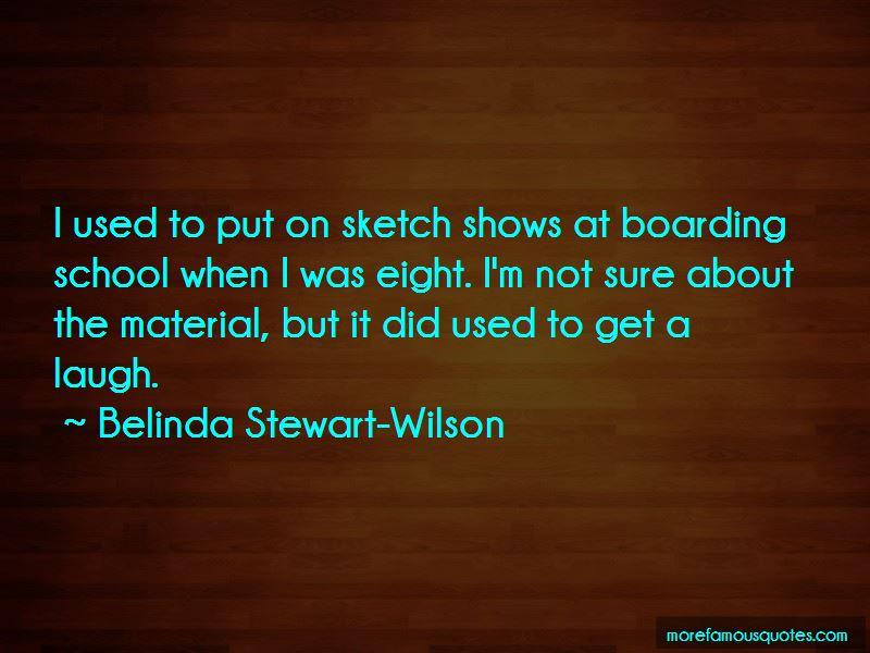 Belinda Stewart-Wilson Quotes Pictures 2