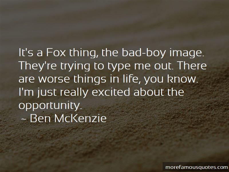 Ben McKenzie Quotes Pictures 2
