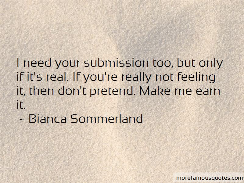 Bianca Sommerland Quotes