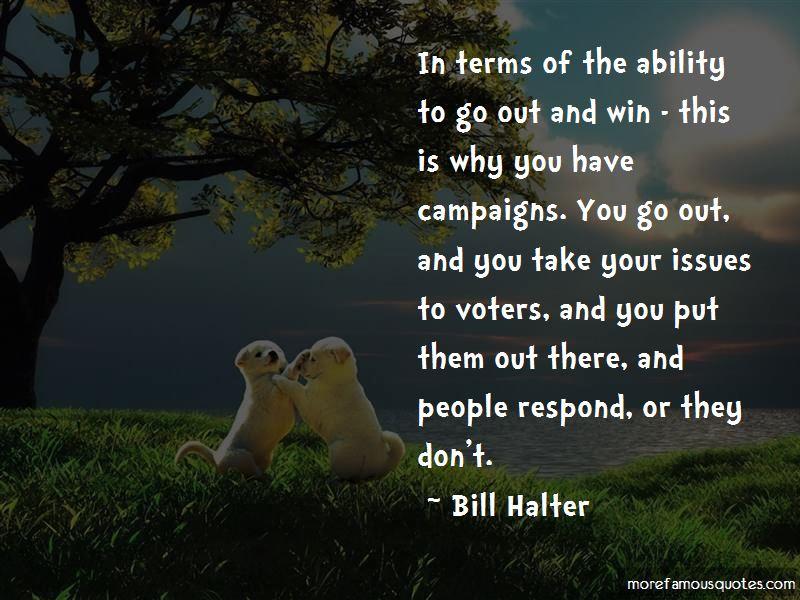 Bill Halter Quotes