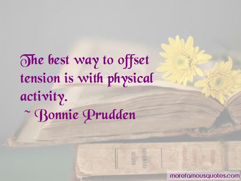 Bonnie Prudden Quotes Pictures 2