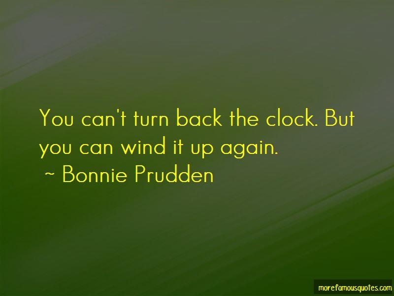 Bonnie Prudden Quotes Pictures 4