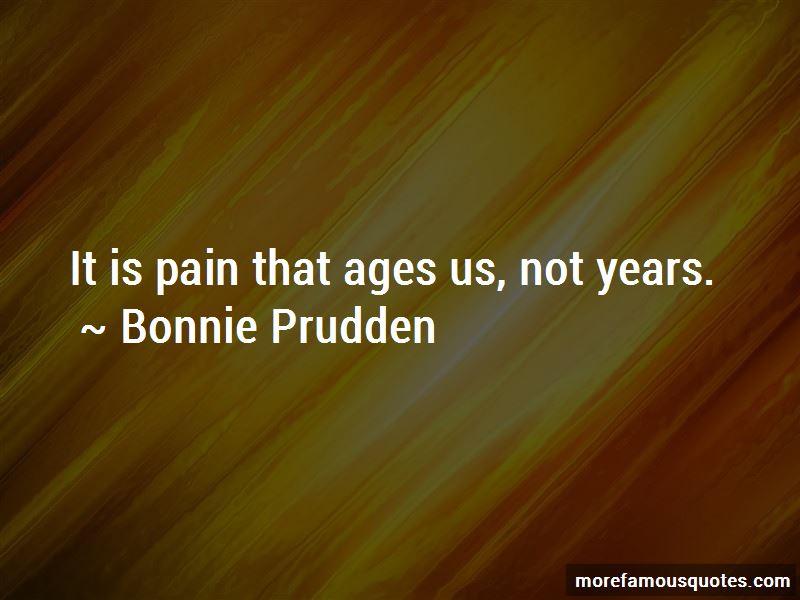 Bonnie Prudden Quotes