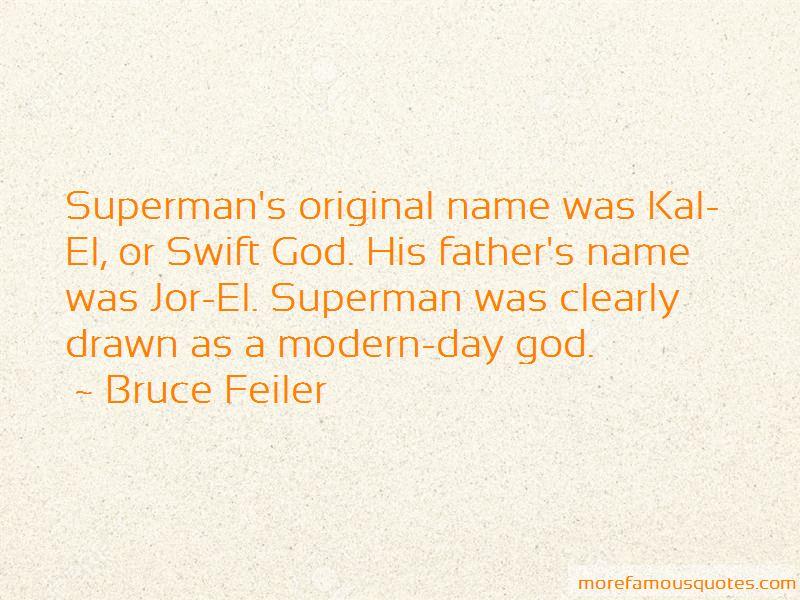 Bruce Feiler Quotes