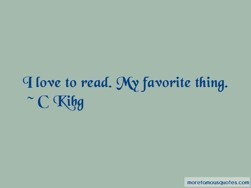 C Kibg Quotes