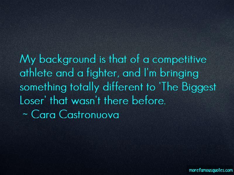 Cara Castronuova Quotes