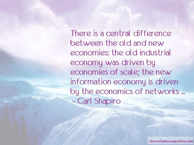 Carl Shapiro Quotes