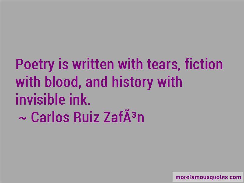 Carlos-Ruiz-Zafon Quotes