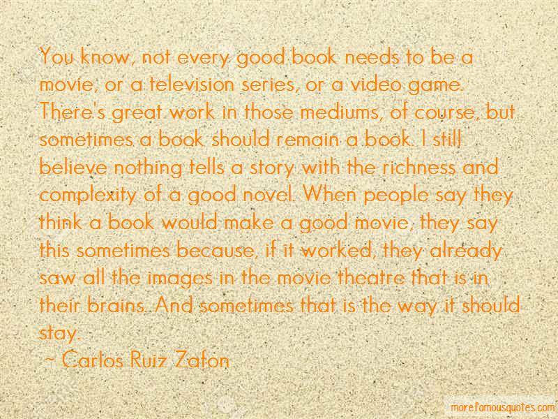 Carlos Ruiz Zafon Quotes