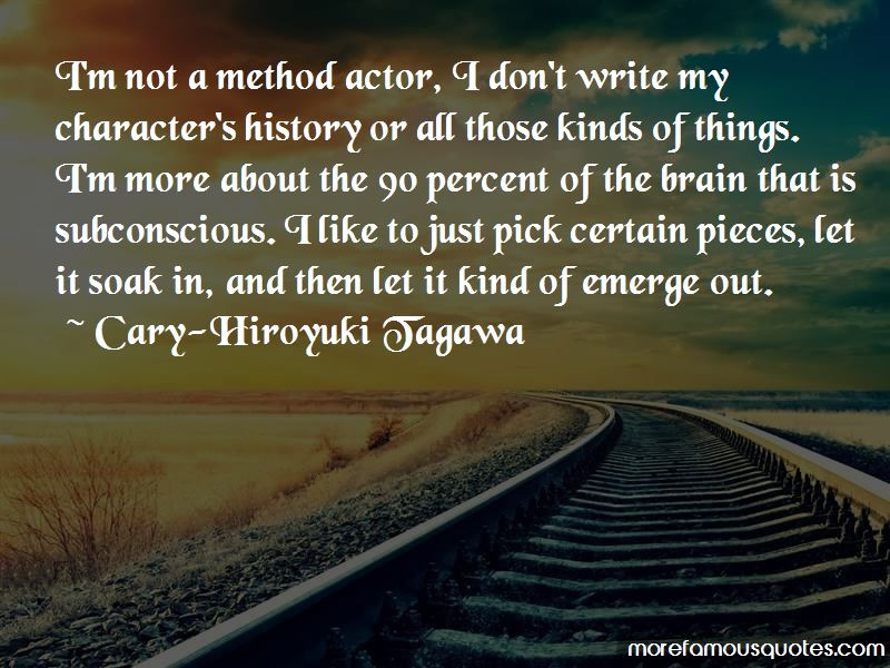 Cary-Hiroyuki Tagawa Quotes Pictures 3