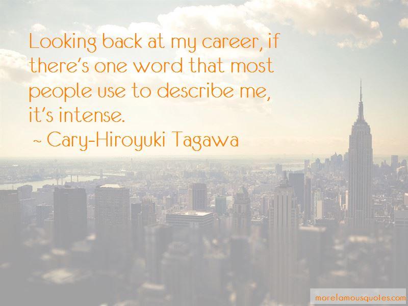 Cary-Hiroyuki Tagawa Quotes Pictures 4