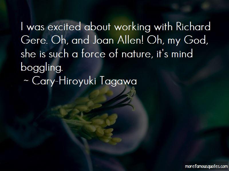 Cary-Hiroyuki Tagawa Quotes