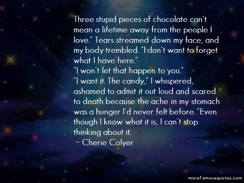 Cherie Colyer Quotes Pictures 4