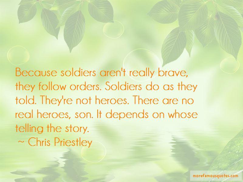 Chris Priestley Quotes