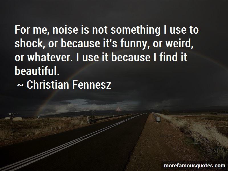 Christian Fennesz Quotes Pictures 2