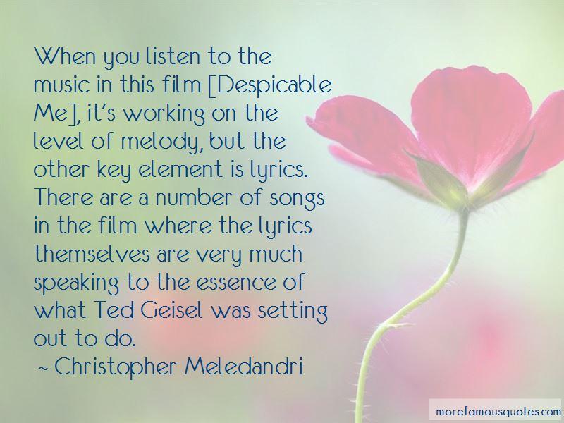 Christopher Meledandri Quotes
