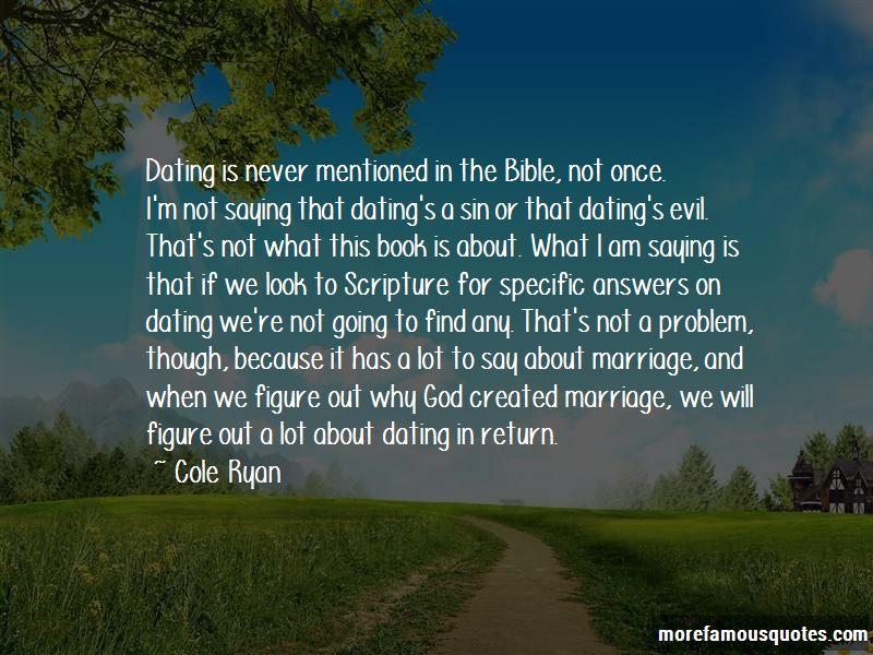 Cole Ryan Quotes