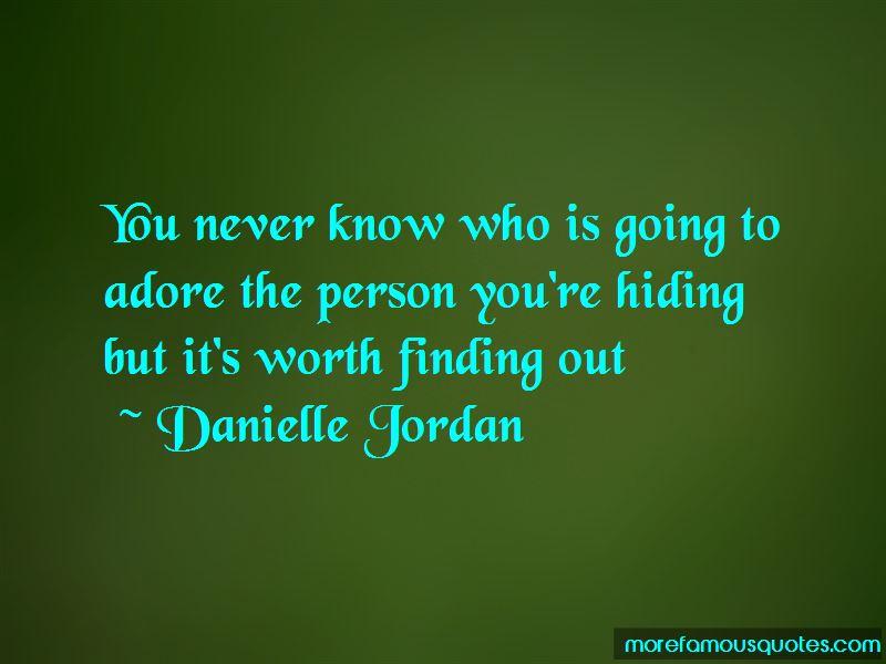 Danielle Jordan Quotes Pictures 2