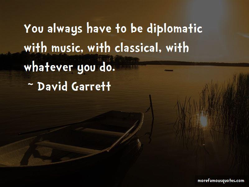David Garrett Quotes
