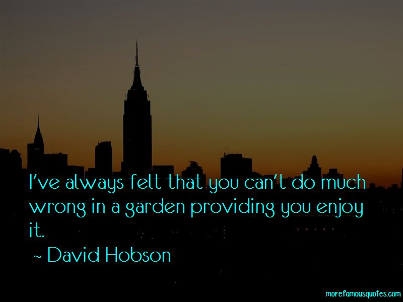 David Hobson Quotes Pictures 2